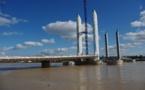 Bordeaux  fête le Pont  Chaban Delmas