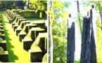 Eyrignac et château de Campagne:la forêt de l'artiste