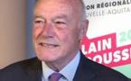 """Alain Rousset candidat:""""poursuivre la transformation douce"""""""