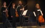 Le Quatuor La Boëtie en transparence au Rocher de Palmer
