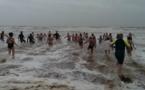 On s'est baigné le 1er janvier à Saint-Jean-de-Monts