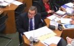 Germinal Peiro condamne  le maïs ogm devant la Commission du développement durable
