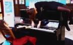 Piano en gares:le podium national pour Clara et Julie