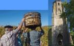 Patrimoine:A Bernède la mémoire du maïs aide à restaurer l'église (vidéo)