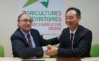 Naissance de l'association viticole franco-chinoise en Gironde