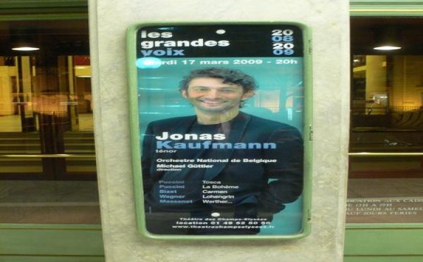 Jonas Kaufmann,  l'unique!