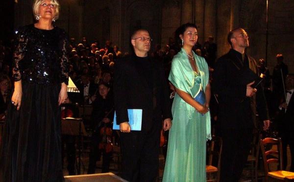 Concert Thilloy et Schumann à la cathédrale Saint-André de Bordeaux: avec Michael Lonsdale récitant