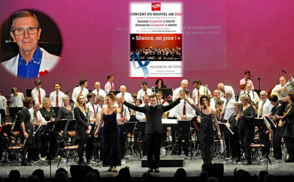 "Concert du Nouvel An 2018 à Bergerac:""Silence on joue!"""