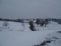 Coteaux sous la neige près de Cahors (ph JCM)
